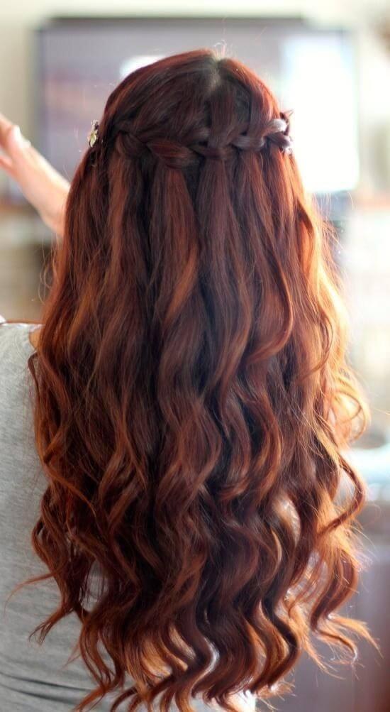kızıl kahve saç