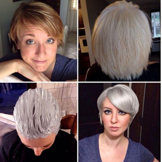 Gri Saç Boyası Ile Saç Boyama Rehberi Saç Sırları