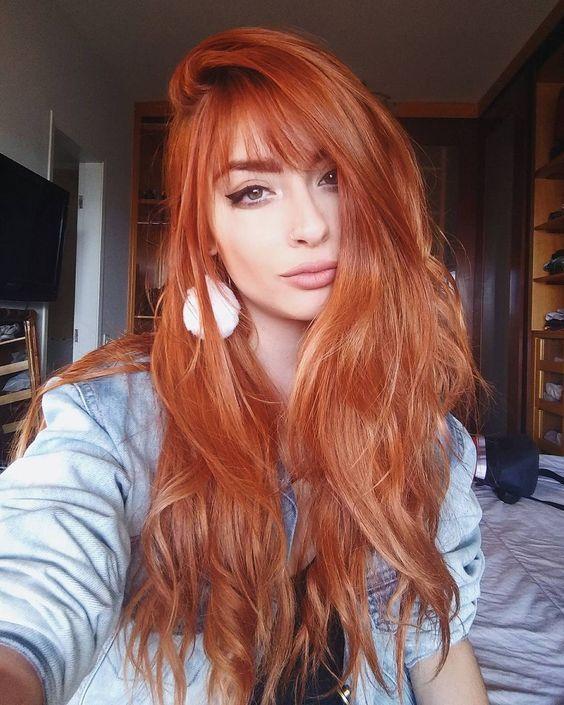 Bakır kızıl saç rengi nasıl elde edilir?