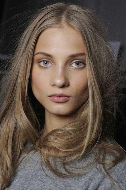 doğal kumral saç rengi