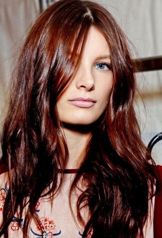 kestane kızıl saç