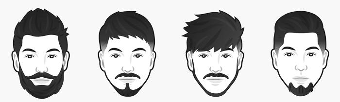 Oval yüz şekline göre sakal modelleri