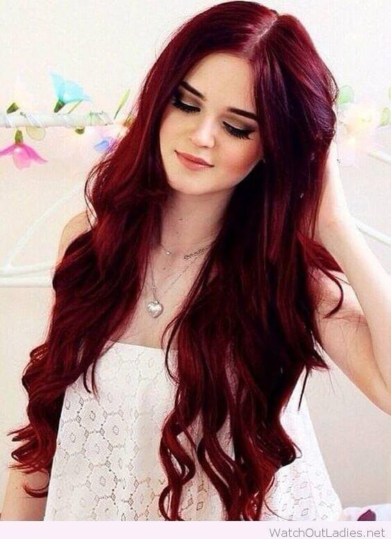 gece kızılı saç