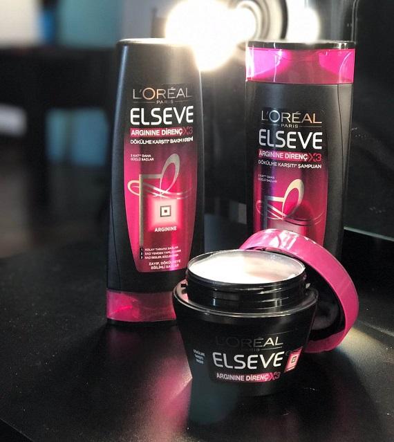 L'Oréal Paris Elseve Arginine Direnç X3 Dökülme Karşıtı Bakım