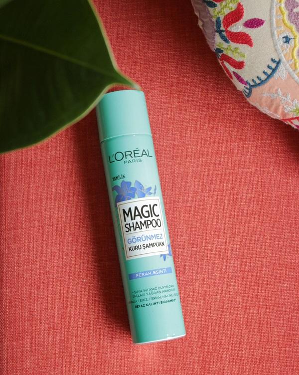 L'Oréal Paris Magic Shampoo Görünmez Kuru Şampuan Nasıl Kullanılır?