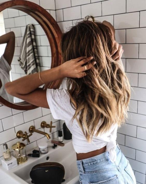 Saçlarını doğal haline bırak