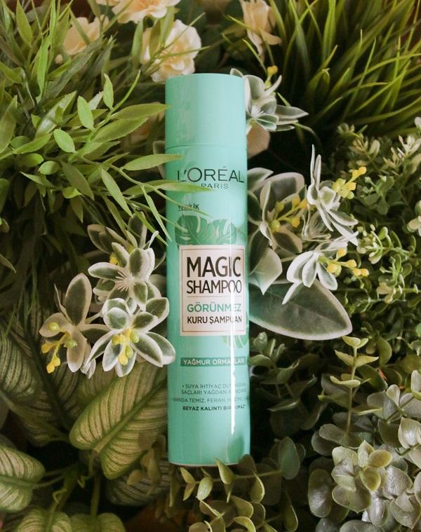 Magic Shampoo Görünmez Kuru Şampuan
