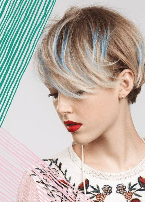 Renkli saçlarda çılgın görünümler: Neon, 3 boyutlu, holografik saç renkleri!