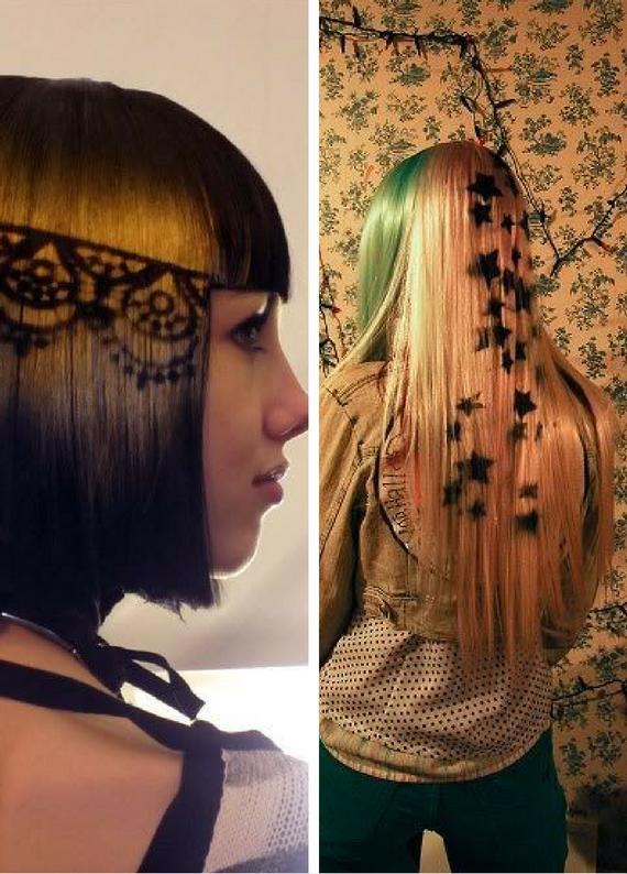 Hair Touch Up ile çılgın saç dövmeleri uygula!