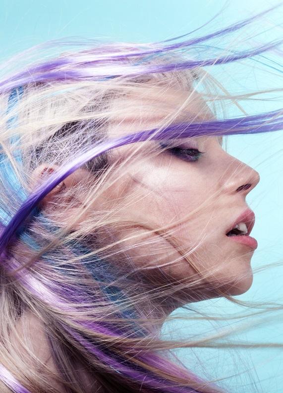 Renkli saçlar: Buğulu leylak saç rengi