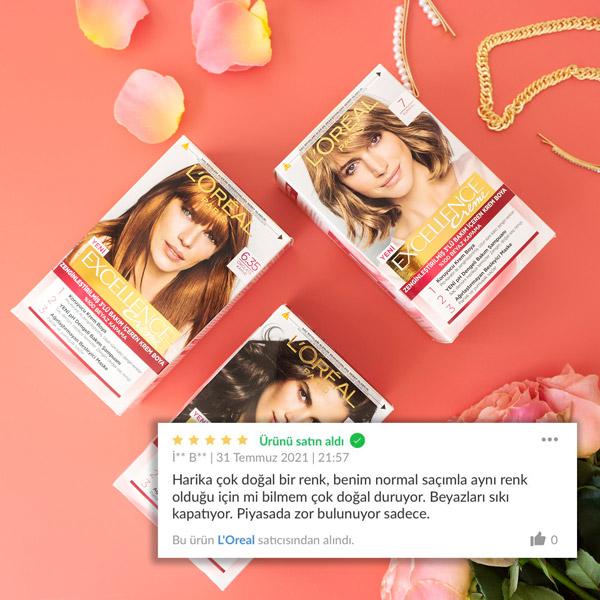 L'Oréal Paris Excellence Saç Boyası Kullananlar ve Yorumları