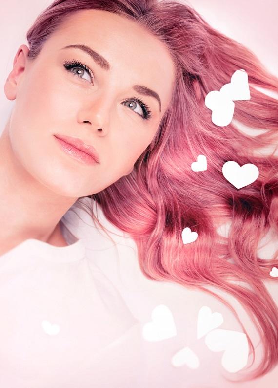 Sevgililer Günü'ne özel şeker renklerinde saçlar