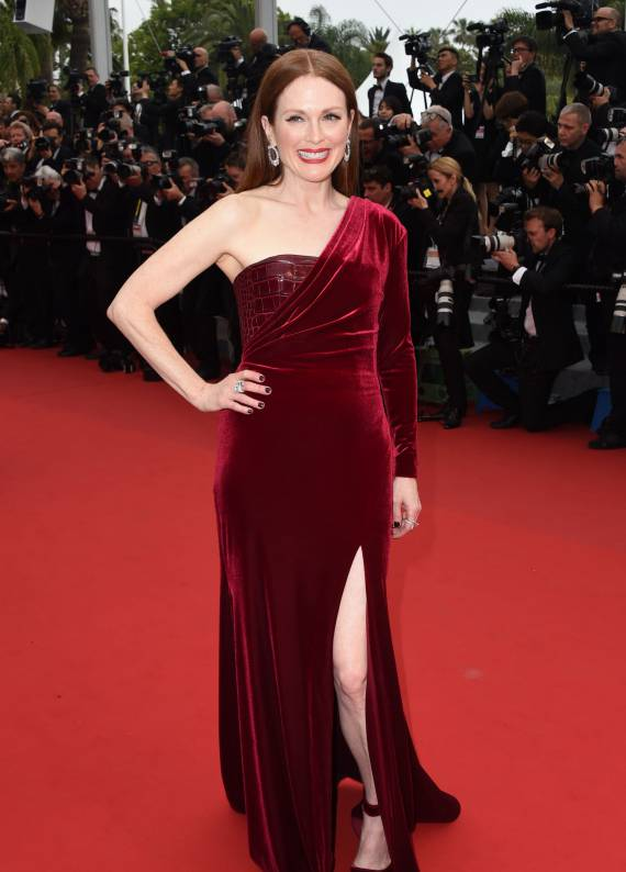 ​Julianne Moore'un Cannes Film Festivali stili