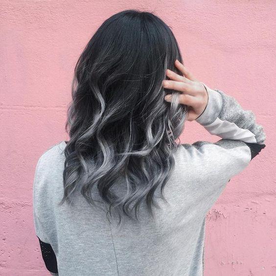 Siyah saça ombre nasıl yapılır? Hangi tonlar yakışır?