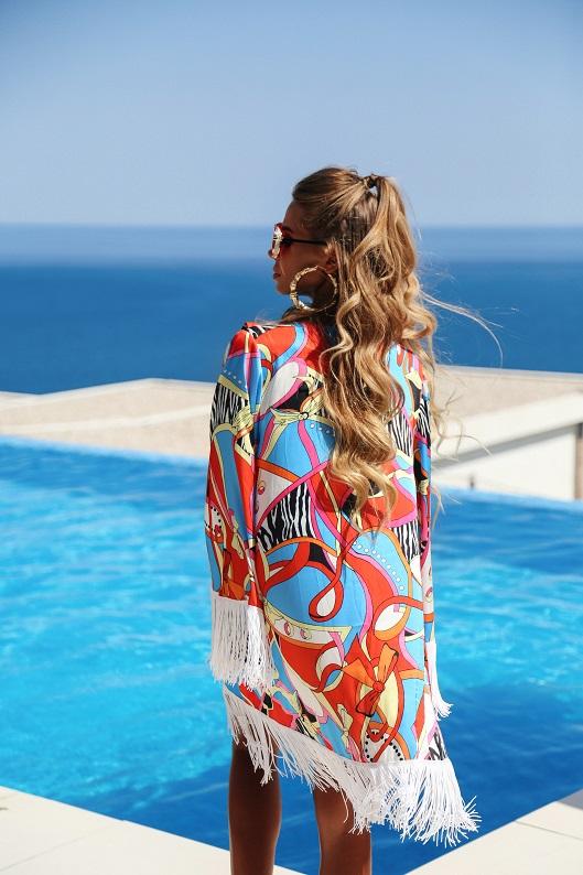 Uzun saçlar için yaz bakımı