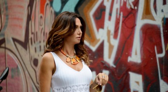 Ayşe Tolga'nın yeni saç rengi: Bronde