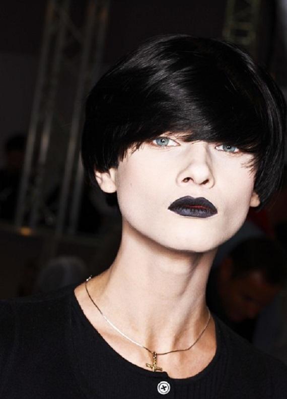 Kısa choppy model saçların için 5 stil önerisi