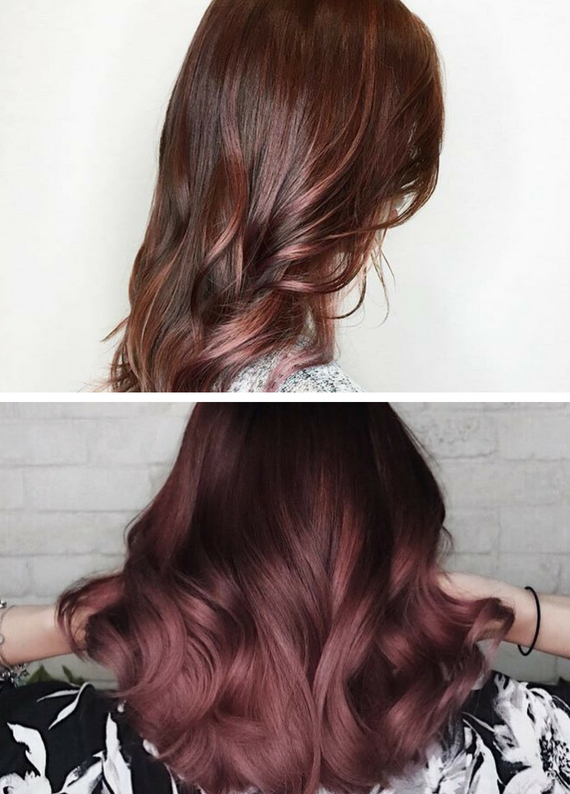 """""""Rose Brown"""" Saç Rengi 2020'de Çok Popüler!"""
