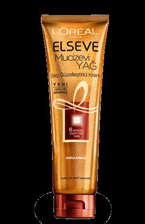 L'Oréal Paris Elseve Saç Güzelleştirici Mucizevi Yağ Kremi Kuru ve Sert Saçlar