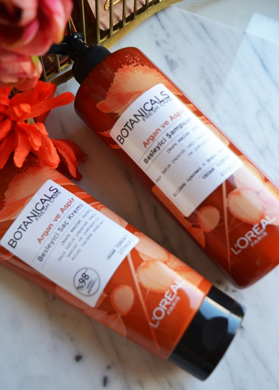 Botanicals Fresh Care Argan ve Aspir Besleyici serisini deniyoruz!