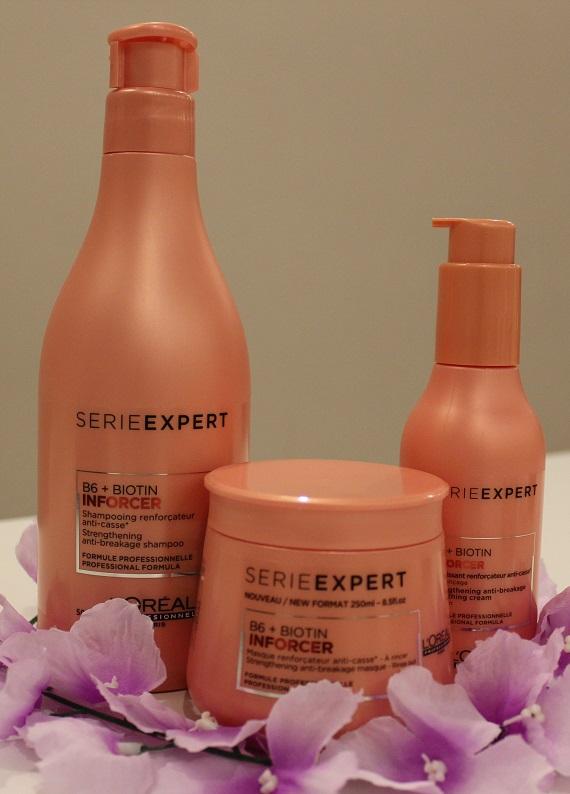 Saç Sırları.com inceliyor: L'Oréal Professionnel Série Expert Inforcer serisi