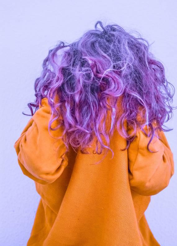 Mor saçlar: Sıra dışı yaz trendi