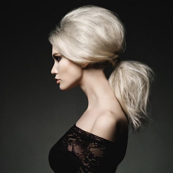Süper kabarık saç görünümü için: Krepe nasıl yapılır?