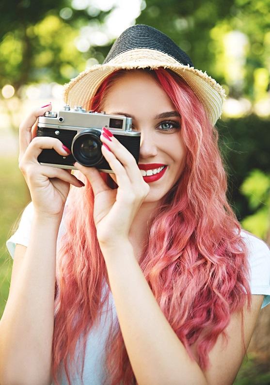 Instagram'ın en göz alıcı renkli saçları!