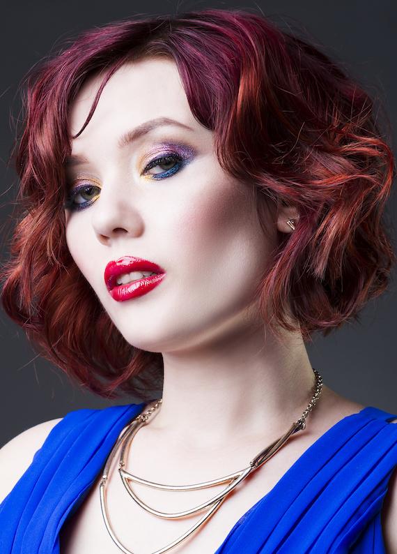 Farklı bir tarz arayanlar için: Kızıl küt saç modelleri