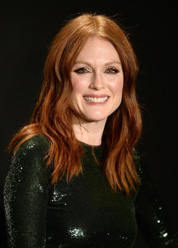Popüler renk kızıl saç için ünlülerden fikirler