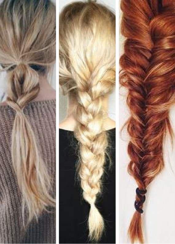 """""""Ah keşke uzun saçlarım olsa"""" dedirtecek 5 farklı dağınık örgü"""