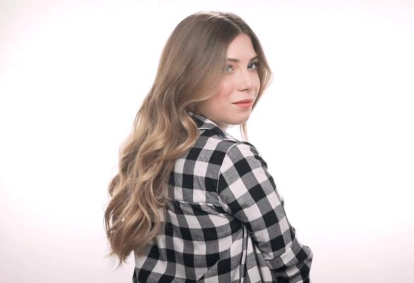 Ezgi Kasapoğlu ile romantik saç modelleri