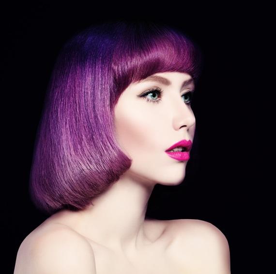 Sanat eserlerinden esinlenen bu saç renklerine çok şaşıracaksın!