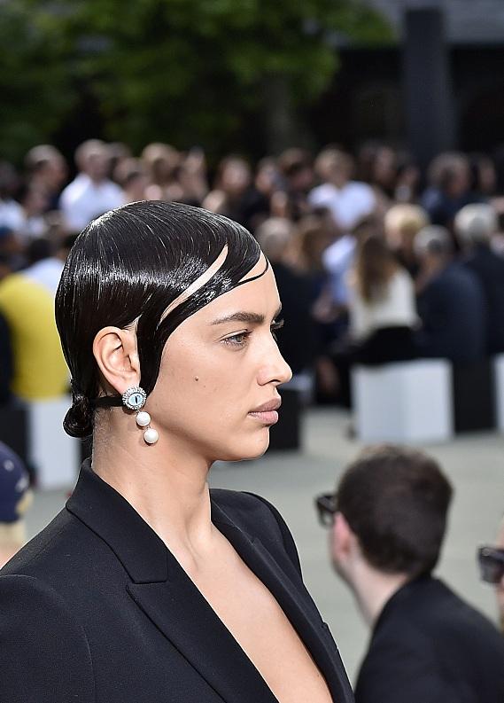Paris Moda Haftası'ndan ıslak saç trendi