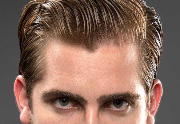 Erkeklere özel: Islak saç görünümü