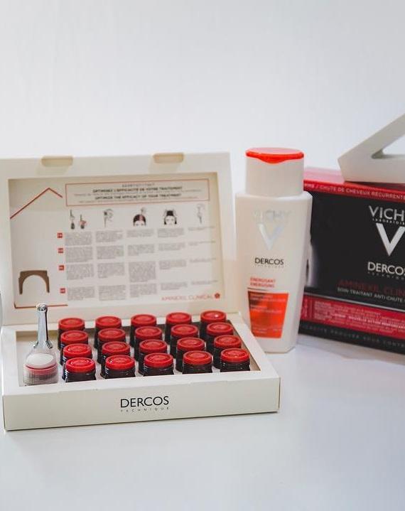 Saç Sırları.com inceledi: Vichy Dercos Energisant serisi ve Aminexil Serum