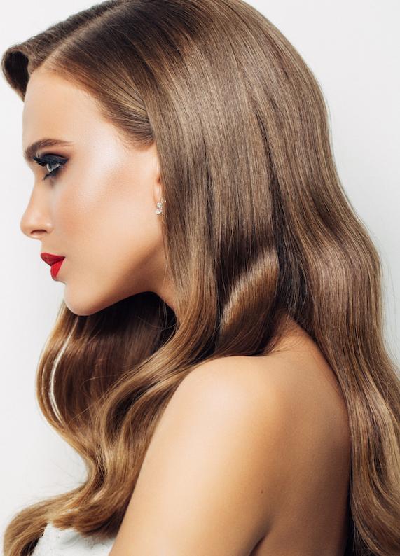2016 saç trendleri: Yandan ayrılmış saçlar