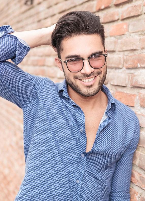 Yuvarlak yüzlü erkeklere özel 10 saç modeli önerisi