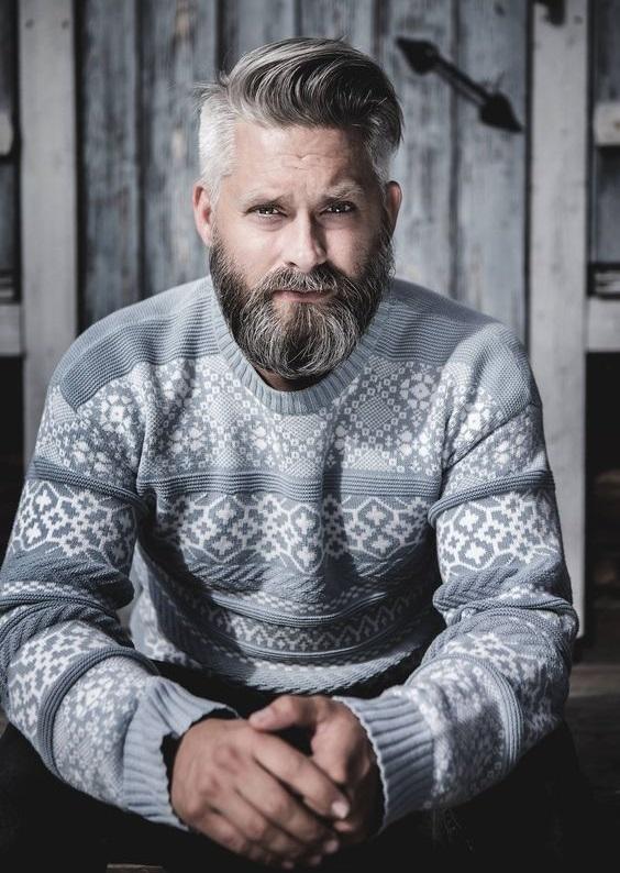 Erkeklerde Saç Beyazlamasına Çözüm