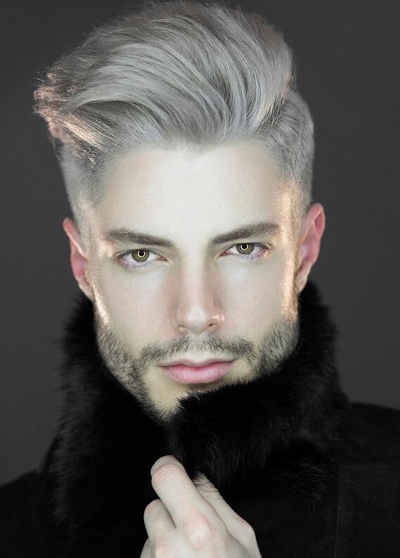 Erkekte gri saç trendi