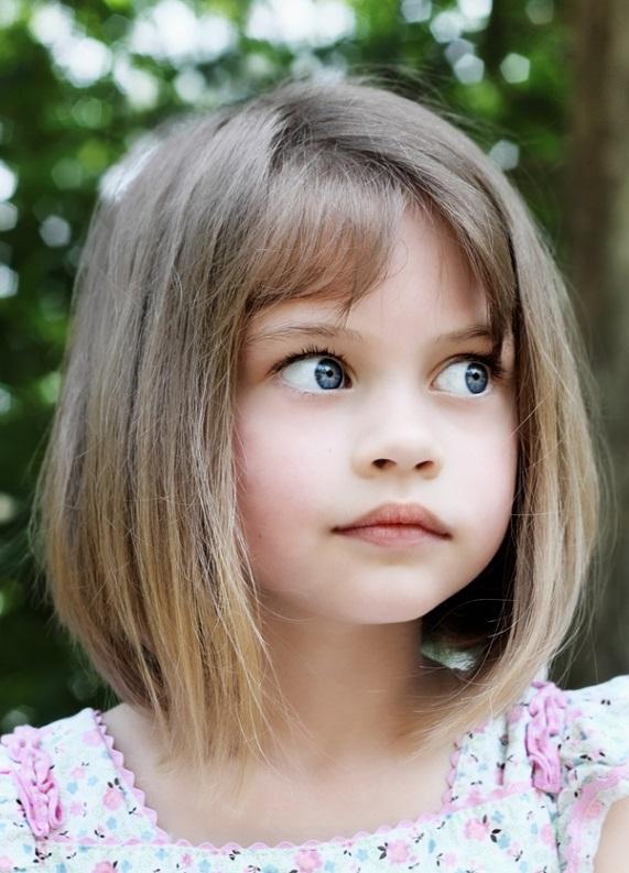 Kız Çocuk Kısa Saç Kesim Modelleri