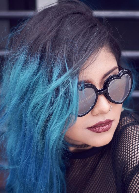 Bu sezonun en popüler mavi saç renkleri!