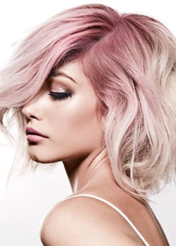 Rengarenk saç dipleri trendi: Dip boyan geldiğinde renkli bir kaçış yolu!