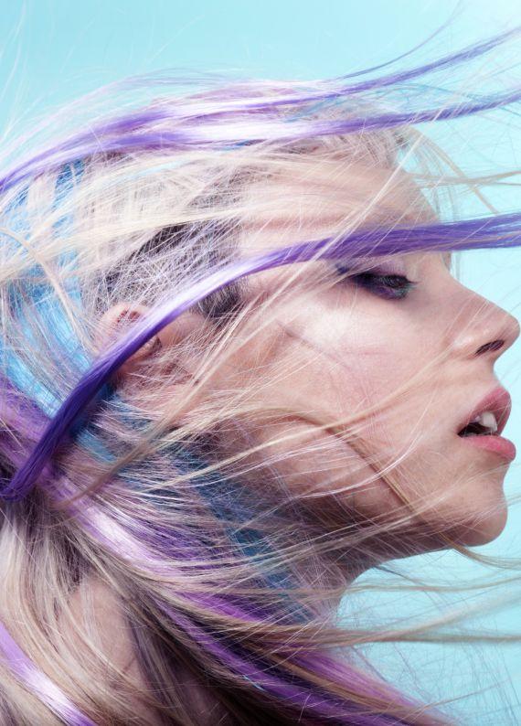Mor saç trendini denemek için 3 neden