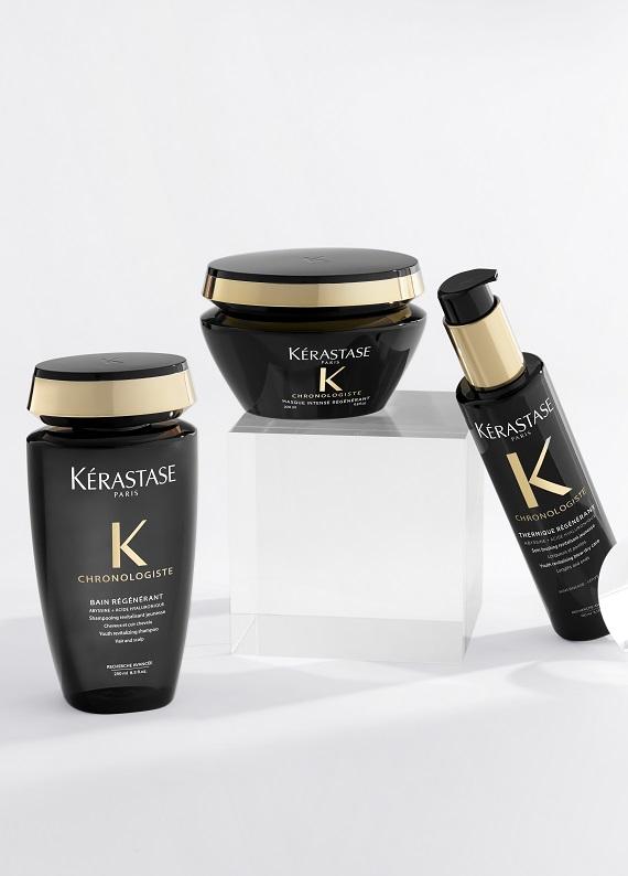 Saç ve saç derisi görünümünü yenileyen saç bakımını deniyoruz: Kerastase Chronologiste!