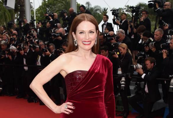 Julianne Moore'un Cannes Film Festivali stili