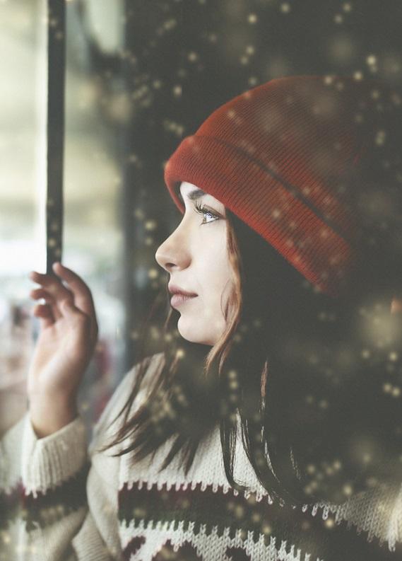 Kışı yenme zamanı: Şapka takarken saçların güzel görünsün
