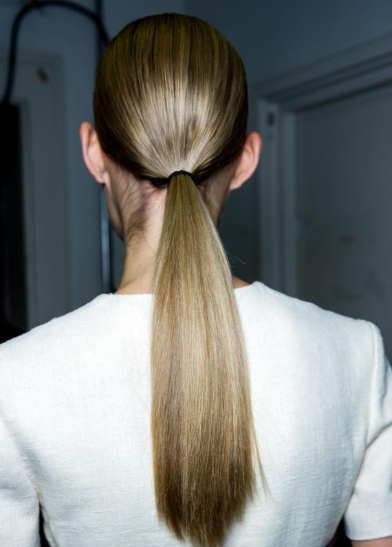 Saç ilhamı: Ensede atkuyrukları!