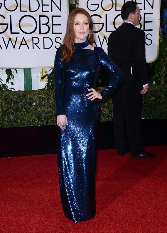 Altın Küre Ödül Gecesine damgasını vuran kızıl: Julianne Moore
