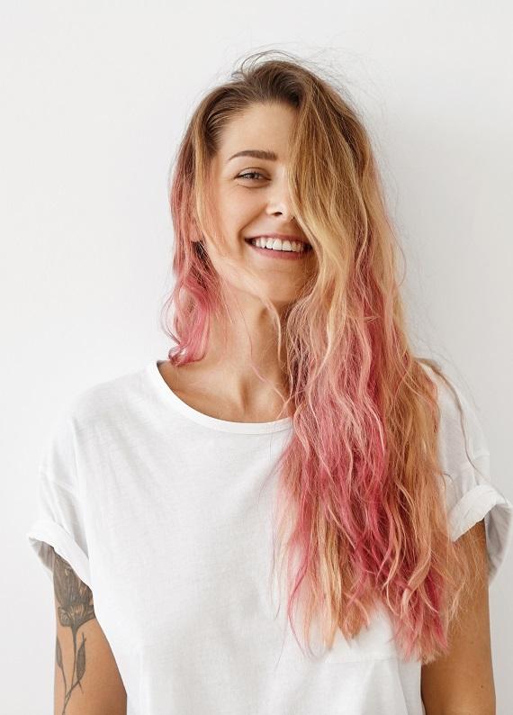 En Göz Alıcı Renkli Saçlar